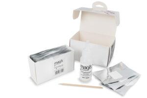 Magis Foil Nail Wraps for Glitter Polish Removal